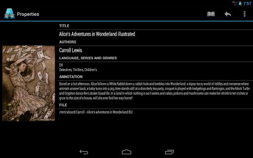 AlReader -any text book reader 1.911805270 screenshots 21