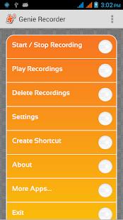 Genie Voice Recorder