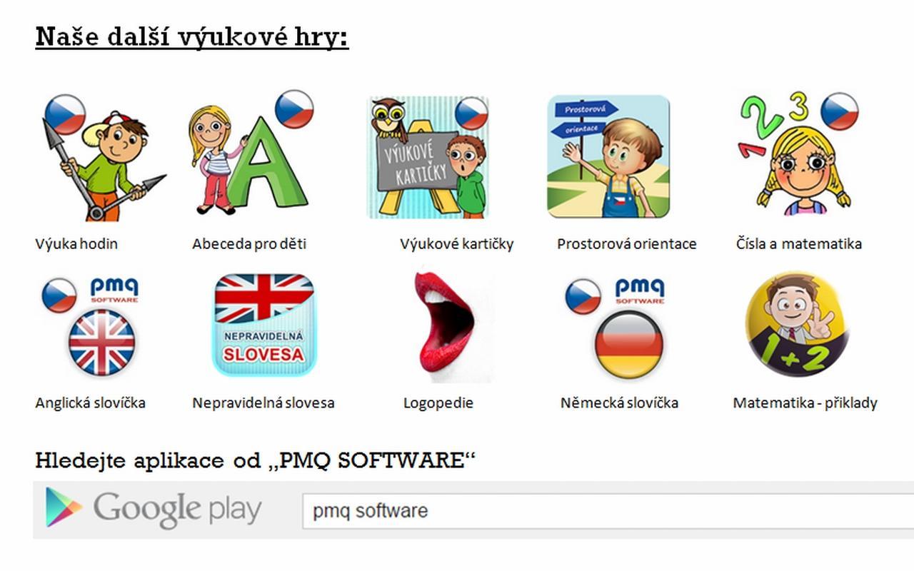 Německá slovíčka [PMQ]- screenshot