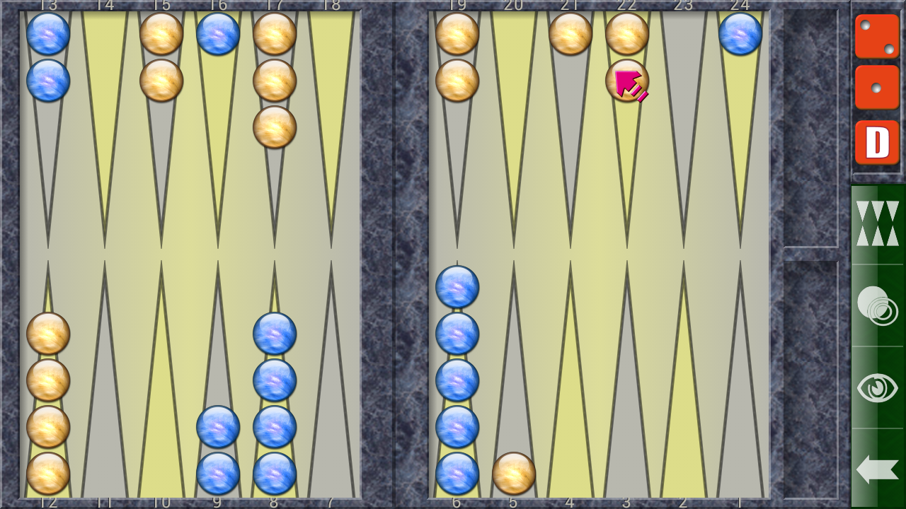Backgammon V - screenshot