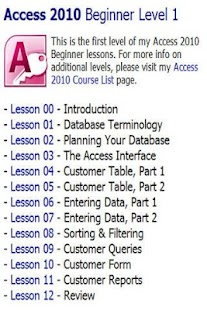 599CD Teaches Microsoft Access - screenshot thumbnail