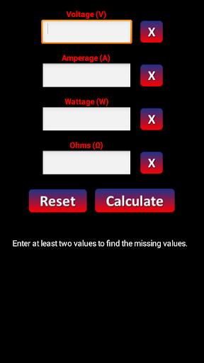 Volt Amp Watt Calculator
