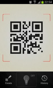 QR Barcode scanner +Flashlight - screenshot thumbnail
