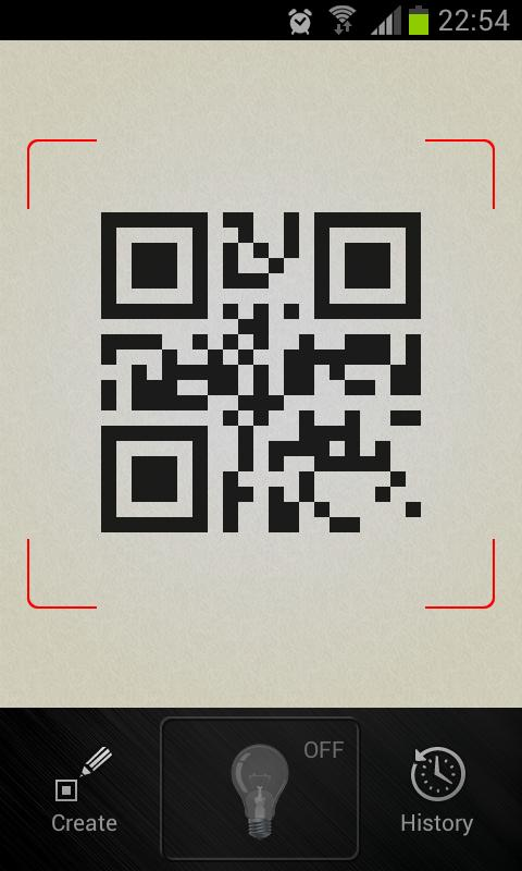 QR Barcode scanner +Flashlight- screenshot