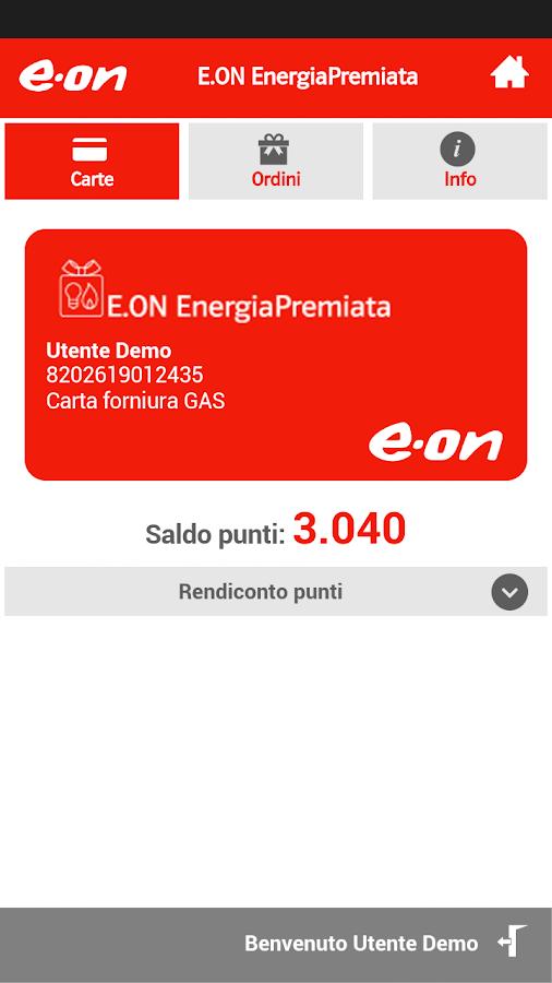 E.ON Energia Mobile- screenshot