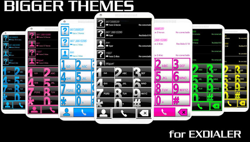 THEME BIG GREEN FOR EXDIALER