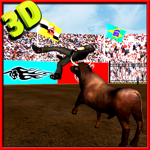 愤怒的公牛的进攻3D卡 模擬 App LOGO-APP試玩