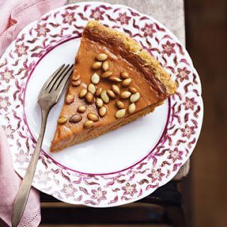 Fresh Pumpkin Pie with Salty Roasted Pepitas