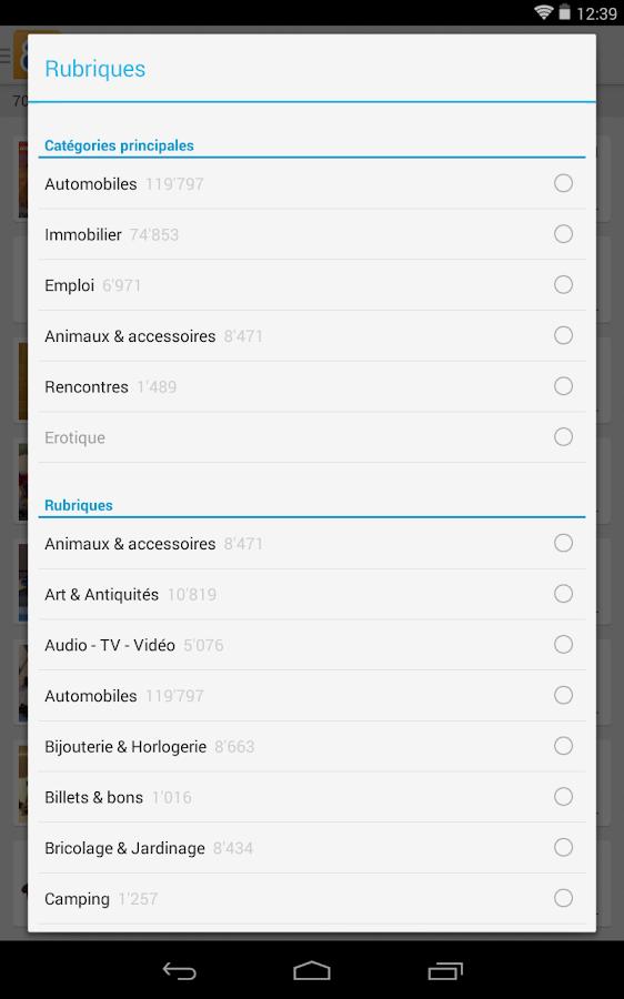 anibis.ch - Petites annonces- screenshot