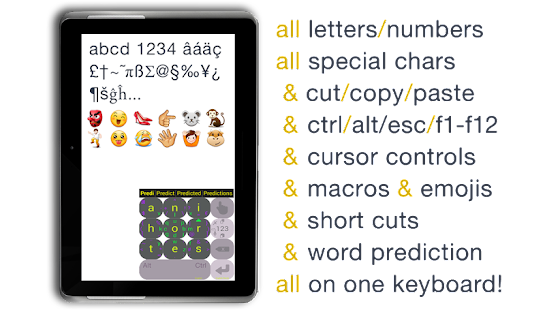 MessagEase Keyboard - screenshot thumbnail