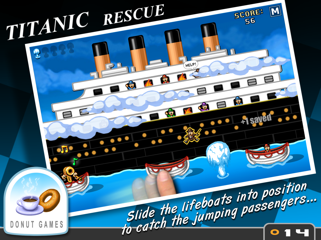 Titanic Rescue- screenshot