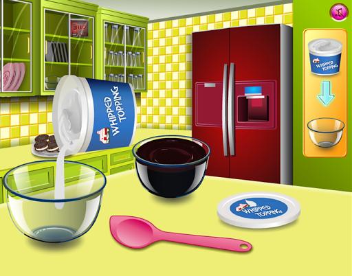 冰淇淋蛋糕 - 烹飪遊戲