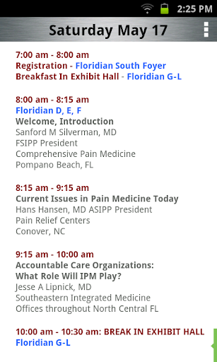 【免費醫療App】FSIPP Conference-APP點子
