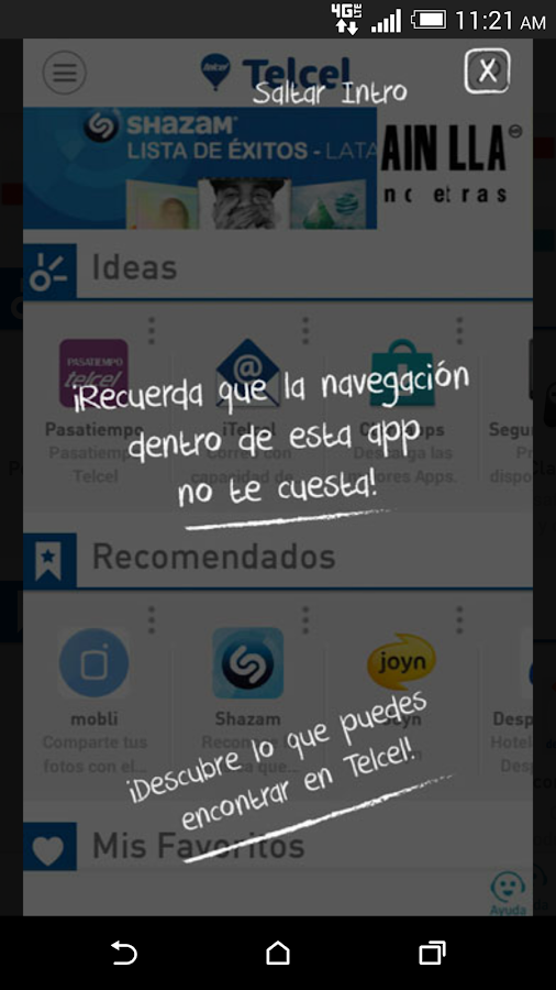 Telcel - screenshot
