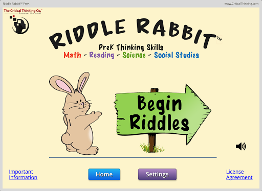 Riddle Rabbit™ PreK