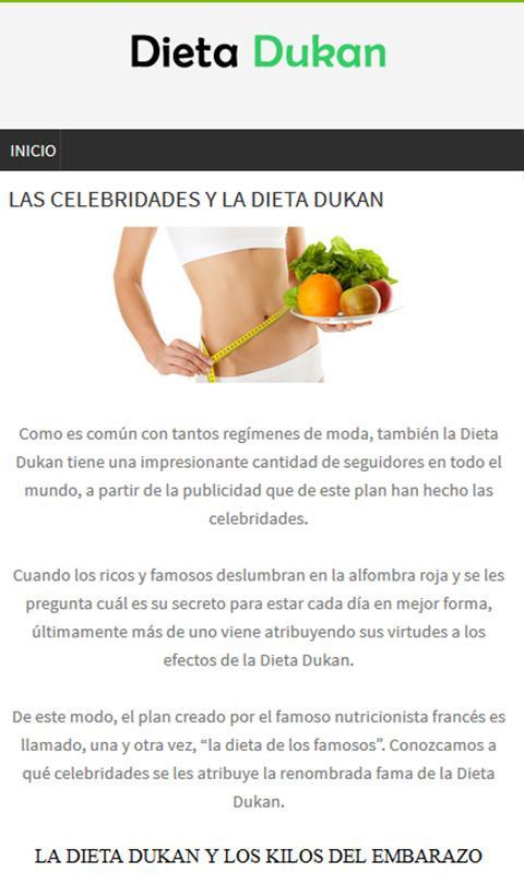 Dieta dukan y sus 4 fases - Dieta Dukan ® Menú y Fases