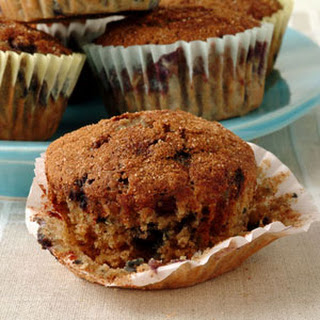 Blueberry Oatmeal Muffins.