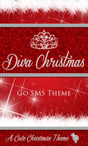Diva Christmas GO SMS Theme