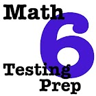 6th Grade Math Testing Prep icon