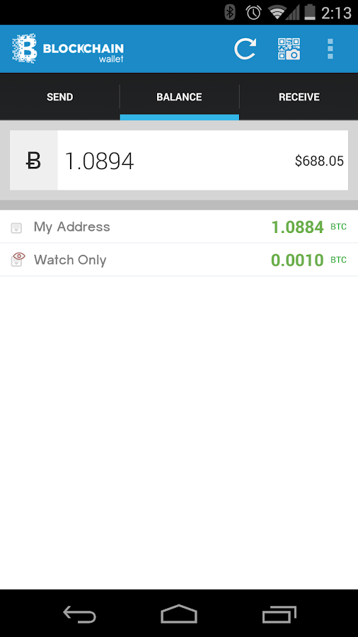 how to buy bitcoin on block chain app