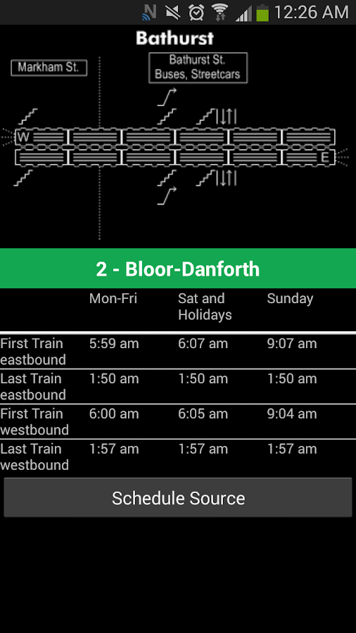 Transit Now Toronto for TTC +- screenshot