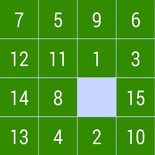 Puzzle 15 Game 解謎 App LOGO-硬是要APP