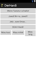Screenshot of Der Hardi - Soundboard