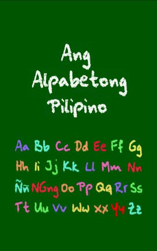 Ang Alpabetong Pilipino Free