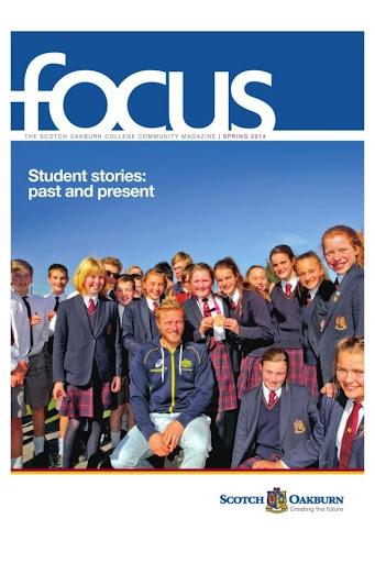 Scotch Oakburn Focus Magazine