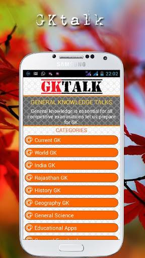 GK talk