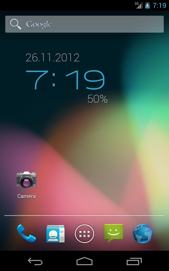 ClockQ - Digital Clock Widget - screenshot