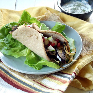 Eggplant Gyros