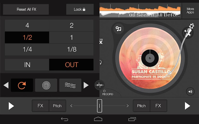 android edjing 5 free DJ musique mixer Screenshot 9