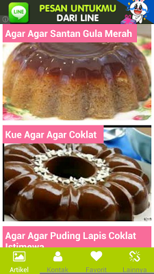 Resep Agar Agar - screenshot