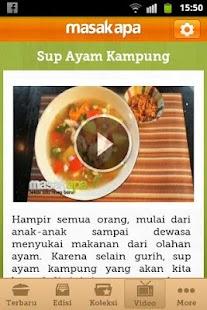 Masak Apa - screenshot thumbnail