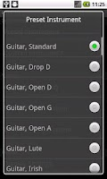 Screenshot of PitchLab Guitar Tuner (LITE)