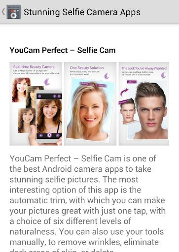 Free Selfie Camera Apps