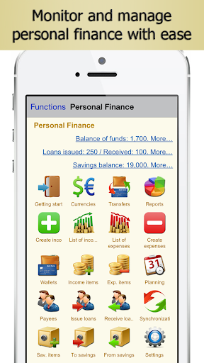 Personal Finance accounting