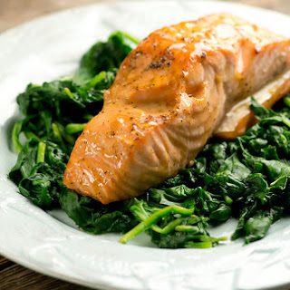 Easy Honey Mustard Salmon