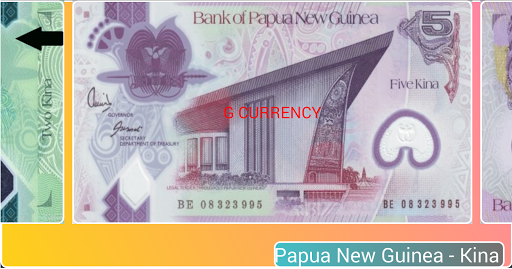 Oceanic Currency Notes