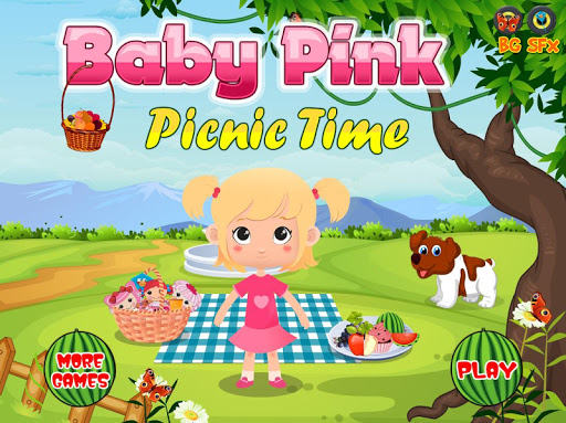 Baby Pink Star Chef Picnic