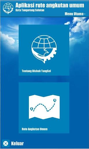 Aplikasi Rute Angkot TangSel