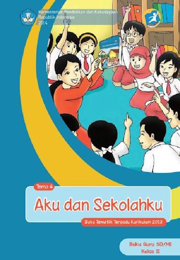 Buku Guru Kelas 2 Tema 4 Kur13
