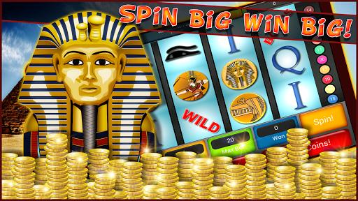 エジプトのスロットマシンの富