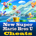 New Super Mario Bros U Cheats logo