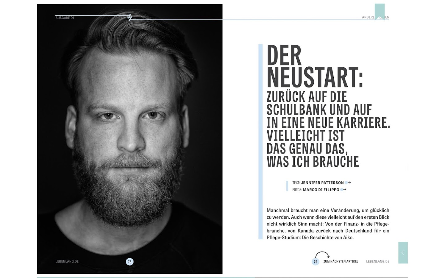 Lebenlang Magazin- screenshot