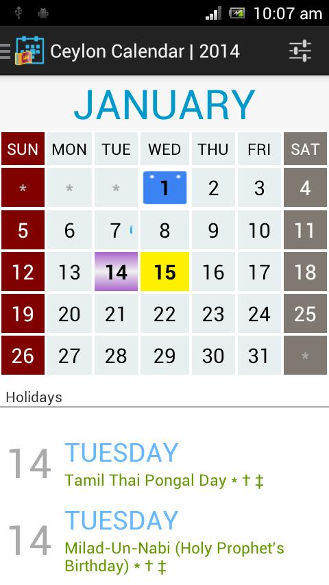 480 x 854 png 59kB, Ceylon Calendar 2014-Sri Lanka screenshot 1