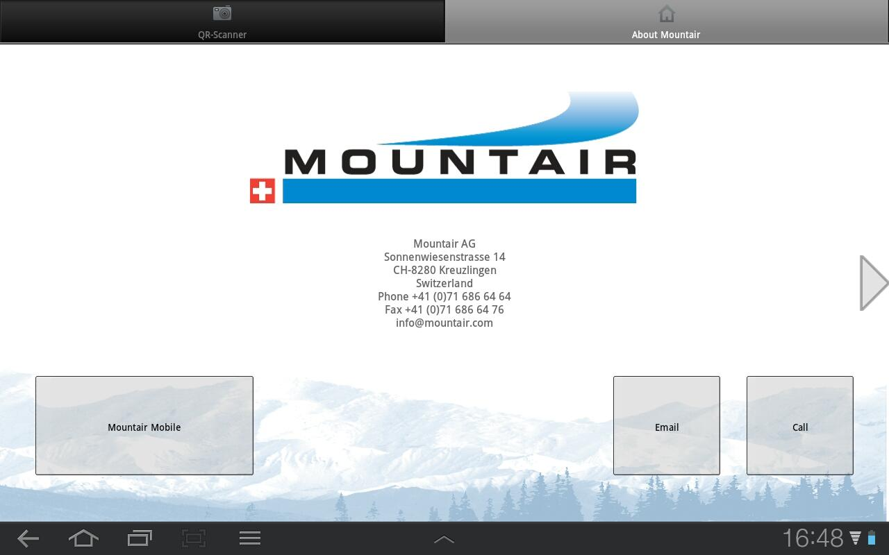 Mountair - screenshot