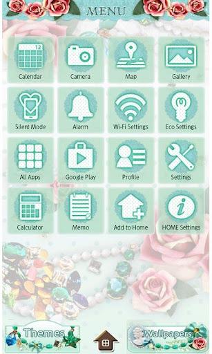 JEWELS & ROSES Wallpaper Theme 1.6 Windows u7528 2