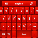 GO Keyboard Red Rose